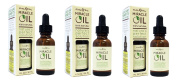Earthly Body Miracle Oil 100% All Natural, 3-PACK, 30ml Each