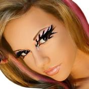Electric Exotic Eyes Professional Eye Paint False Eyelashes Dancer Stripper by SummitFashions