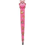 Animal Tweezers with. Crystal-9.5cm L (Bear) by Japan Import