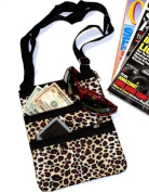 Leopard Print Crossbody bag by Dealmart