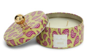 Vera Bradley Appleberry Champagne Scented Candle in Gift Giving TIn