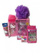 Hello Kitty Bath, Beauty and Toothbrush Gift Set