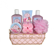 Peach Blossom Honey Spa & Bath Gift Set By Lovestee