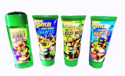 Teenage Mutant Ninja Turtle Toiletry set Bubble Bath, Conditioning Shampoo, Body Wash and Hair Gel