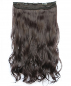 NiCheng 5clips Long Curly/Wavy Clip-in Hair Extensions Soft Synthetic Fibre Women's Popular Hairpieces 60cm 130g 32colors
