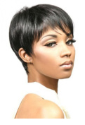 Womens Black Fashion sexy Straight Short Wig