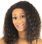 SmartFactory Silk Explosion Top Full Lace Human Hair Wig for Women