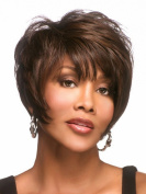 SmartFactory Short Natural Synthetic Wig for Women or Party
