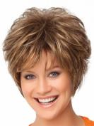 SmartFactory Short Golden Softtextile Silk Wig Cap for Women