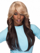 SmartFactory Long Gradient Colours Synthetic Lace Front Wig for Cosplay