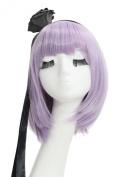 Hotaru Shidare Wig Dagashi Kashi Cosplay 35cm Purple Wig & Hair Accessories