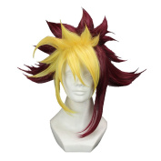 Yugioh Zexal Quattro Wig Short Prestyled Anime Costume Party Wig