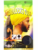 King.J Unisex Cotton Spandex Dreadlocks Tube