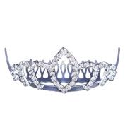 FUMUD Charm Bridal Wedding Silver Crystal Rhinestones Pearls Women/Girls/Kids Hair Comb Clip Hot