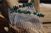 Bloodstone Hair Combs (QTY 2)