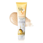 Avon LIMITED-EDITION foot works BEAUTIFUL toasted MACADAMIA NUT Exfoliating Scrub