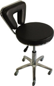 Black Stool Equipment Medical Chair Facial Beauty Salon Spa Tattoo