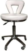 D SALON White Stool Equipment Medical Chair Facial Beauty Salon Spa Tattoo