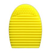 Lookatool® Cleaning Glove MakeUp Washing Brush Scrubber Board Cosmetic Clean