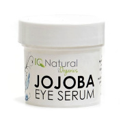 IQ Natural Jojoba Eye Balancing Serum, daily hydration, reduce appearance of stress. Organic 100% VEGAN 30ml