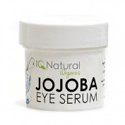 IQ Natural Jojoba Eye Balancing Serum, daily hydration, reduce appearance of stress. Organic 100% VEGAN 30ml