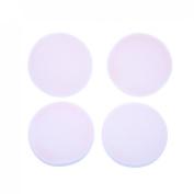 Anleolife white round sponges foundation blender facial powder puff makeup blush applicators 6bags,24pcs