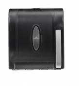 Georgia Pacific Roll Towel Dispenser - Hygenic Push-Paddle - Translucent Smoke