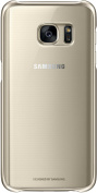 Galaxy S7 Protective Cover, Clear Gold
