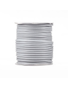 FreshHear Pack of 1 for 40m Korea Waxed Cotton Cord Colour Light Grey Size 3x3mm