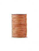FreshHear Pack of 1 for 170m Korea Waxed Cotton Cord Colour Champagne Size 1x1mm
