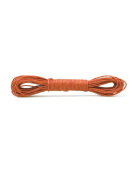 FreshHear Pack of 1 for 10m Waxed Cotton Cord Size 1.5x1.5mm Colour Orange