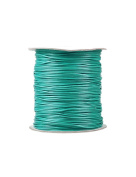 FreshHear Pack of 1 for 170m Korea Waxed Cotton Cord Colour Peacock Green Size 1.5x1.5mm
