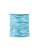 FreshHear Pack of 1 for 170m Korea Waxed Cotton Cord Colour Light Blue Size 1.5x1.5mm