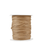 FreshHear Pack of 1 for 80m Waxed Cotton Cord Colour Khaki Size 2x2mm