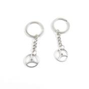 80 Pieces Keyring Keychain Keytag Key Ring Chain Tag Door Car Wholesale Jewellery Making Charms Q2ZX1 Gear Gearwheel