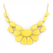 Pretty Gold-tone Statement Necklace