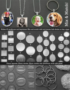 Makes 40 Photo Pendants Variety Kit Necklaces and Key Chains