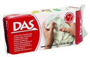 DAS Air Hardening Modelling Clay, 0.5kg Block, White (387000)