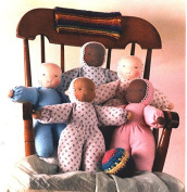 Customizable Waldorf Flannel Doll Kit