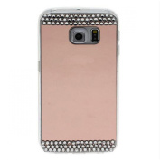 Galaxy S7 Bling Case-Superstart Rose Gold Samsung S7 Soft Beauty Makeup Bling Mirror Glass Case Cover for Samsung Galaxy S7