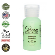 All Natural Acne Spot Treatment with Tea Tree Oil - 30ml