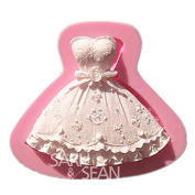 Olala 3D Princess Skirt Cake Decoration Sugarcraft Soap Making Mould Chocolate Mould