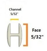 0.4cm Round H Lead Came (3.7m)