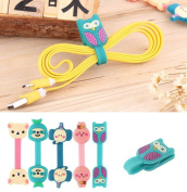 2015 New Arrival Earphone Winder Cable Cord Organiser Holder For Iphone Ipad Mp5 Multi-styles Promotion