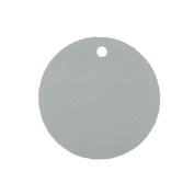 Blank 6.4cm Round Cardstock Gift Tags