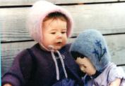 Felt Baby Bonnet - Fibre Trends Knitting & Felting Pattern CH-12