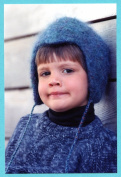 Child's Felt Cap - Fibre Trends Knitting & Felting Pattern CH-11 - Easy Knit for 3 Sizes