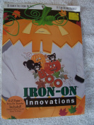 BOO Black Cats Iron-On Applique Kit