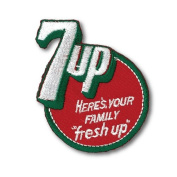 Iron Patch [7UP] 7UP Soda Logo Emblem