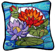 Stained Glass Waterlilies